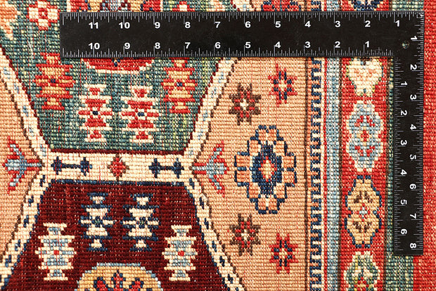 Multi Colored Kazak 5' 1 x 6' 10 - No. 67580 - Alrug Rug Store