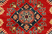 Red Kazak 4' 11 x 6' 7 - No. 67627 - ALRUG Rug Store