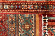 Multi Colored Kazak 6' 8 x 10' 5 - No. 67661 - ALRUG Rug Store