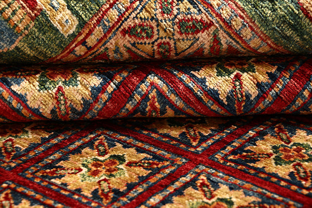 Multi Colored Kazak 8' 11 x 12' - No. 67665 - ALRUG Rug Store