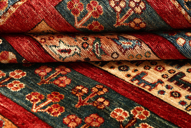 Multi Colored Kazak 7' 10 x 10' - No. 67667 - ALRUG Rug Store