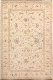Blanched Almond Ziegler 6' 4 x 9' 7 - No. 67713 - ALRUG Rug Store