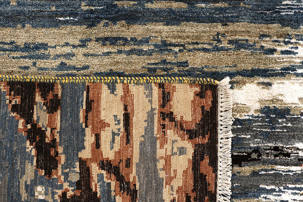 Multi Colored Abstract 6' 4 x 9' 1 - No. 67796 - ALRUG Rug Store