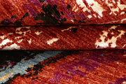 Multi Colored Abstract 4' x 6' 3 - No. 67806 - ALRUG Rug Store