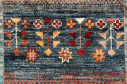 Multi Colored Kazak 2' 6 x 9' 11 - No. 67869 - ALRUG Rug Store