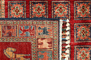 Multi Colored Kazak 8' 2 x 10' 1 - No. 67892 - ALRUG Rug Store