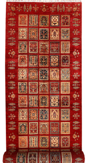 Multi Colored Kazak 4' 11 x 20' 7 - No. 67893 - ALRUG Rug Store