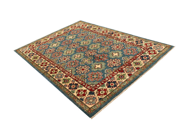Light Slate Grey Kazak 5' 7 x 7' 8 - No. 67980 - ALRUG Rug Store