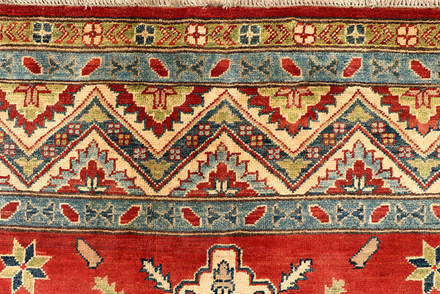 Dark Red Kazak 6' 8 x 9' 11 - No. 67989 - ALRUG Rug Store