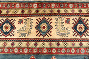 Light Slate Grey Kazak 9' 9 x 14' - No. 68010 - ALRUG Rug Store