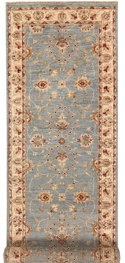 Light Slate Grey Oushak 2' 8 x 9' 5 - No. 68043 - ALRUG Rug Store