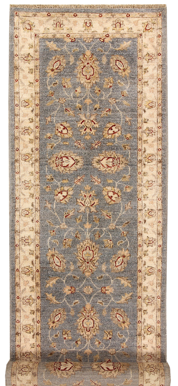 Light Slate Grey Oushak 2' 8 x 9' 8 - No. 68044 - ALRUG Rug Store
