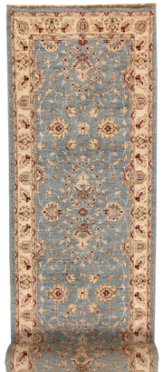 Light Slate Grey Oushak 2' 7 x 13' - No. 68046 - ALRUG Rug Store