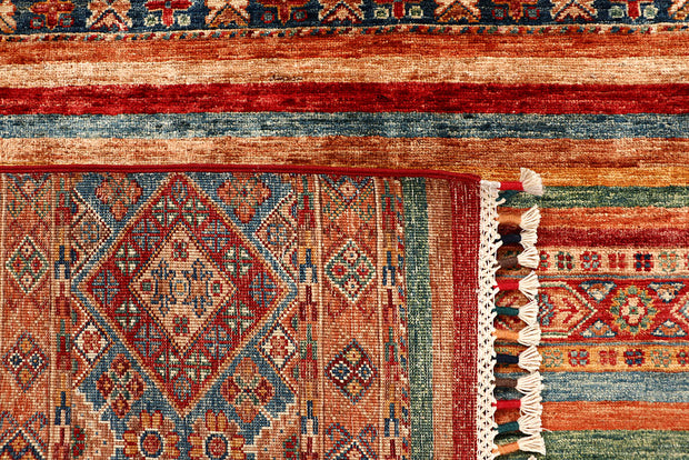 Multi Colored Kazak 5' 5 x 8' 1 - No. 68051 - ALRUG Rug Store