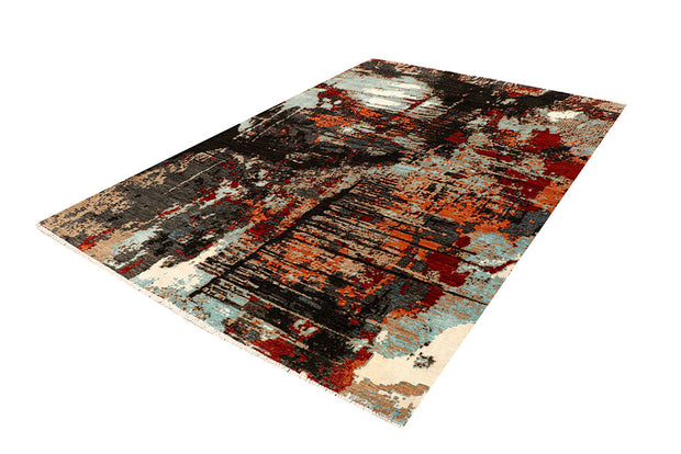 Multi Colored Abstract 6' 8 x 9' 9 - No. 68059 - ALRUG Rug Store