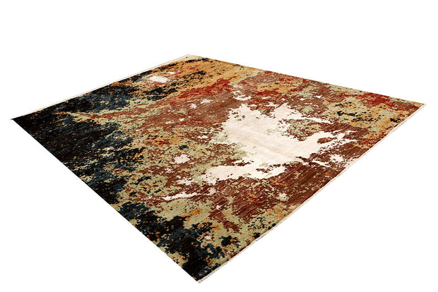 Multi Colored Abstract 8' 1 x 10' - No. 68066 - Alrug Rug Store