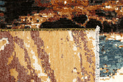 Multi Colored Abstract 8' 11 x 12' - No. 68068 SQM:9.94