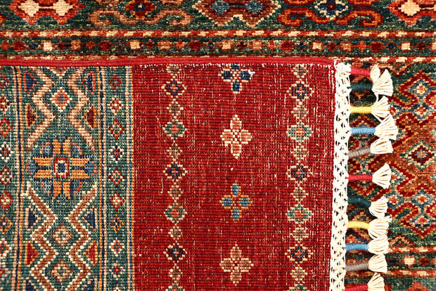 Multi Colored Kazak 2' 8 x 13' - No. 68119 SQM:3.22