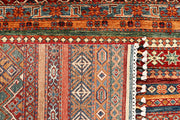 Multi Colored Kazak 5' 7 x 8' 2 - No. 68120 - ALRUG Rug Store