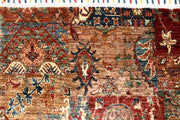 Multi Colored Kazak 8' 11 x 11' 10 - No. 68122 - Alrug Rug Store