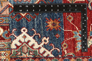 Multi Colored Kazak 8' 11 x 11' 10 - No. 68122 SQM:9.80