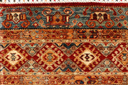 Multi Colored Kazak 4' 11 x 6' 5 - No. 68124 SQM:2.93