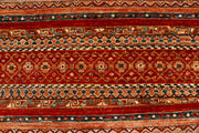 Multi Colored Kazak 4' 11 x 6' 5 - No. 68124 - ALRUG Rug Store