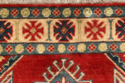 Red Kazak 2' 8 x 6' 11 - No. 68148 SQM:1.71