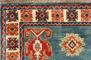 Light Slate Grey Kazak 2' 8 x 13' 1 - No. 68154 - Alrug Rug Store