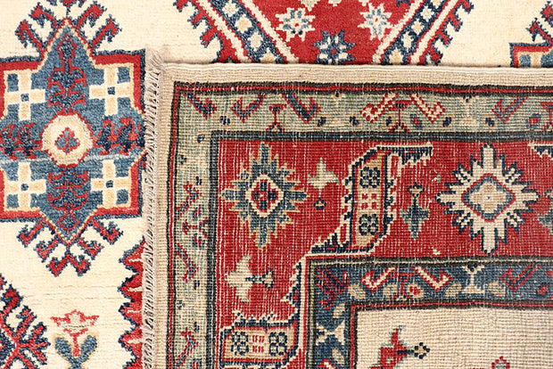 Old Lace Kazak 5' 2 x 17' 1 - No. 68162 - Alrug Rug Store