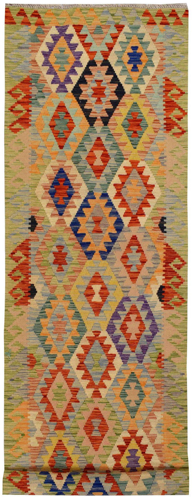 Multi Colored Kilim 2' 10 x 9' 11 - No. 68182 - Alrug Rug Store