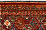 Multi Colored Kazak 6' 11 x 10' - No. 68189 - ALRUG Rug Store