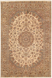 Blanched Almond Isfahan 5' 7 x 8' 4 - No. 68348 - ALRUG Rug Store