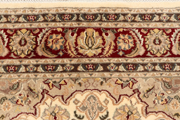 Blanched Almond Isfahan 6' 1 x 9' 9 - No. 68412 - ALRUG Rug Store