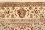 Blanched Almond Isfahan 6' 7 x 9' 10 - No. 68439 - ALRUG Rug Store