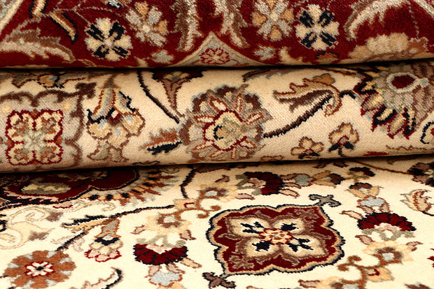 Blanched Almond Isfahan 6' 1 x 9' 2 - No. 68443 - ALRUG Rug Store