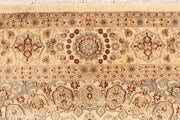 Blanched Almond Isfahan 6' 5 x 9' 6 - No. 68464 - ALRUG Rug Store