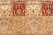 Multi Colored Bakhtiar 4' 7 x 7' - No. 68501 - ALRUG Rug Store