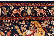 Multi Colored Hunting 4' 8 x 7' 3 - No. 68514 - ALRUG Rug Store