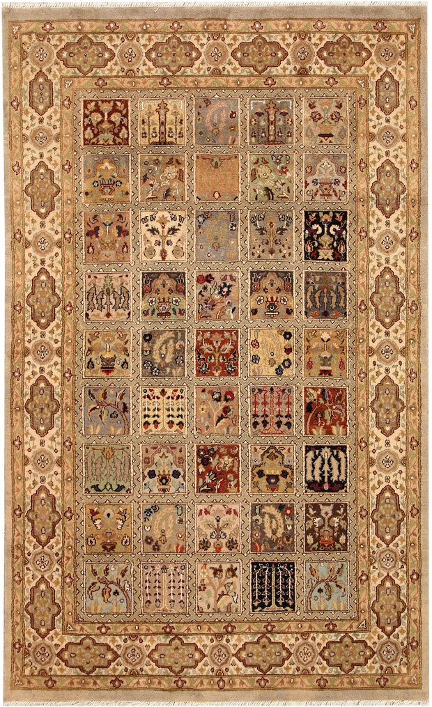 Multi Colored Bakhtiar 4' 6 x 7' 4 - No. 68516 - ALRUG Rug Store