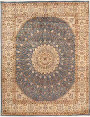 Light Slate Grey Gombud 8' 2 x 10' 4 - No. 68554 - ALRUG Rug Store