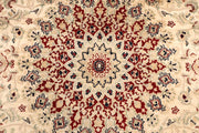 Blanched Almond Kashan 8' 2 x 10' 2 - No. 68561 - ALRUG Rug Store