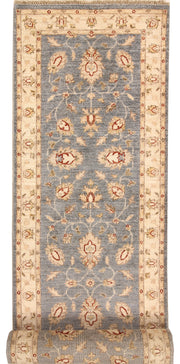Light Slate Grey Oushak 2' 8 x 13' 11 - No. 68634 - ALRUG Rug Store