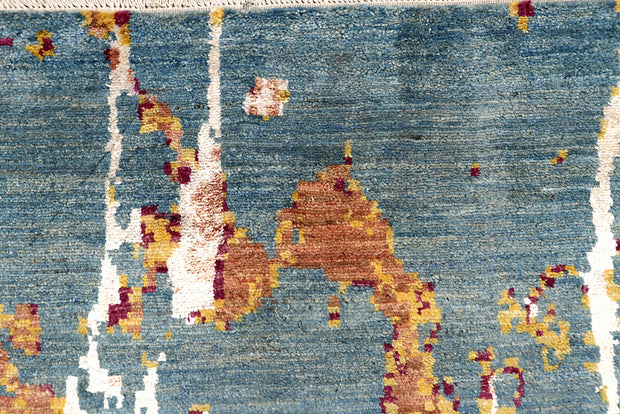 Multi Colored Abstract 4' 1 x 6' 2 - No. 68684 - ALRUG Rug Store