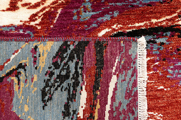 Multi Colored Abstract 4' 2 x 6' 2 - No. 68685 - ALRUG Rug Store