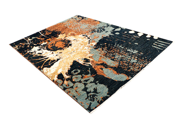 Multi Colored Abstract 5' 7 x 7' 9 - No. 68690 - ALRUG Rug Store