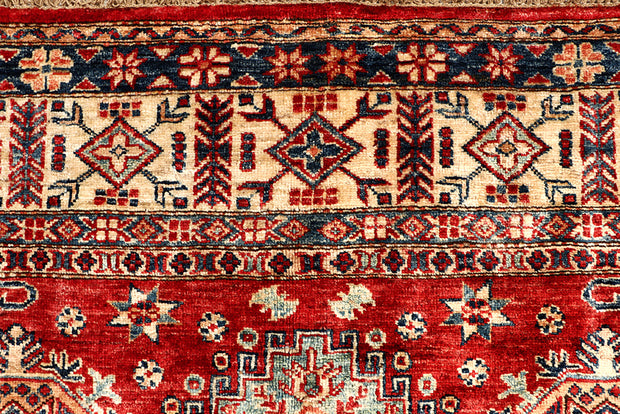 Dark Red Kazak 5' 7 x 8' - No. 68702 - ALRUG Rug Store
