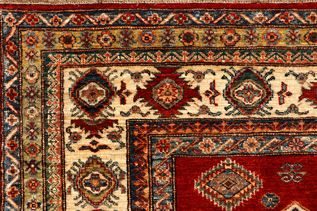 Dark Red Kazak 6' 7 x 9' 1 - No. 68705 - ALRUG Rug Store