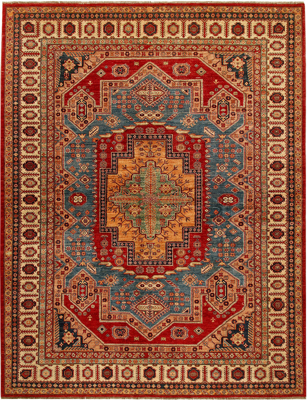 Multi Colored Kazak 8' 4 x 10' 4 - No. 68708