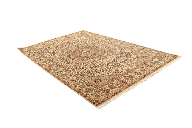 Blanched Almond Gombud 5' 6 x 8' 2 - No. 68748 - ALRUG Rug Store